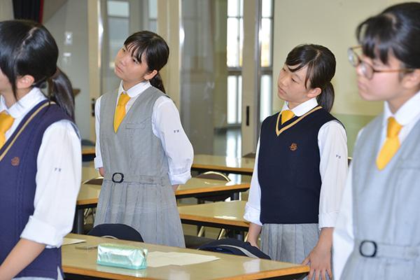 中学3年生 第3回乙女塾 「ボイストレーニング」